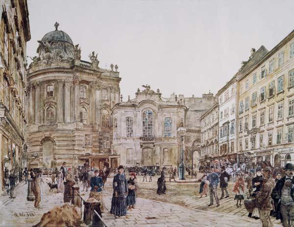 Vienna , Hofburg and Michaeltrakt