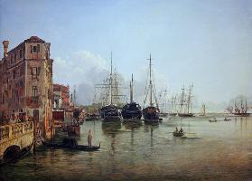 View of The Strada Nuova, Venice