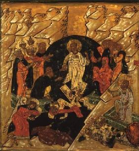 Anastasis (Christ's Descent into Hell), Russian icon