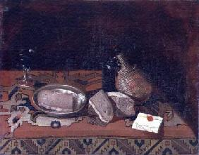 Still Life with a Carpet Tablecloth