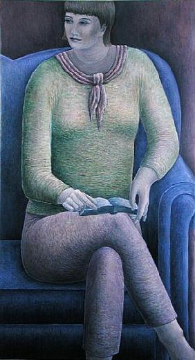 Woman Reading, 1999 (oil on canvas)