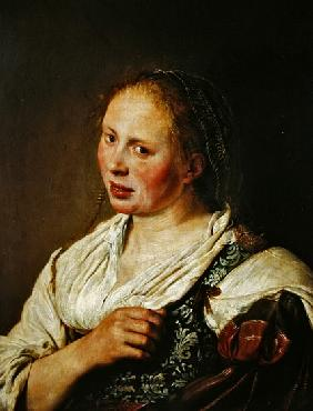 Painting of the young peasant