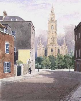 St. Paul's Church, Portland Square, from Surrey Street