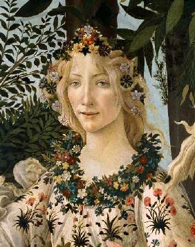 "Detail of ""The Spring"": head of Flora."
