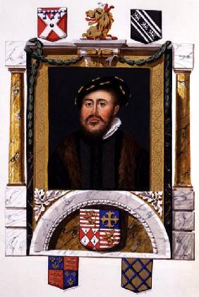 Portrait of Charles Brandon (1488-1545) Duke of Suffolk as a Young Man (w/c & gouache on paper)