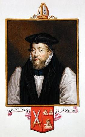 Portrait of Richard Vaughan (c.1550-1607) Bishop of London from 'Memoirs of the Court of Queen Eliza