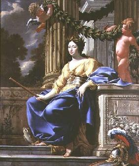 Allegorical portrait of Anne of Austria