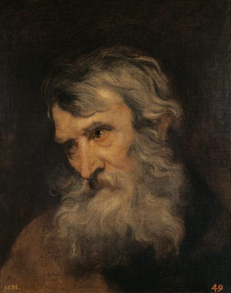 Portrait of an old man.
