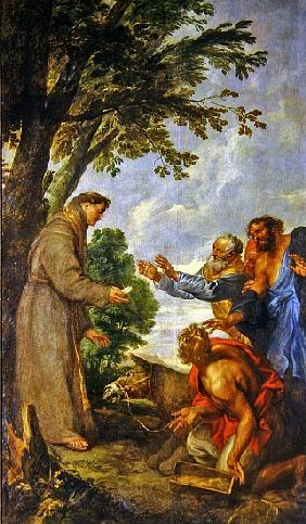 The Legend of the Mule and Saint Anthony of Padua. 1627-32