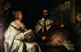The Madagascar portrait of Thomas Howard and his wife Aletheia Talbot, 1635 (oil on canvas)