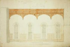 The Hall, New College Oxford: Design for New Roof