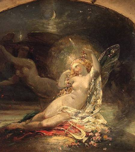 The Fairy Queen - Sir Joseph Noel Paton
