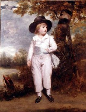 Boy in a Black Hat