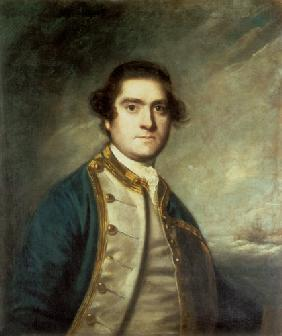 Portrait of Captain Thomas Cornewall