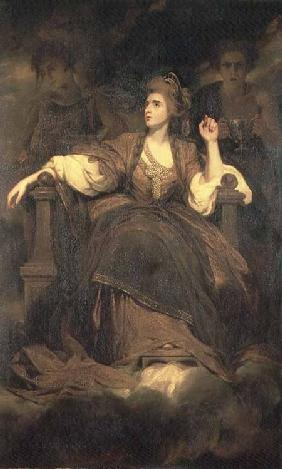 Mrs Siddons as the Tragic Muse