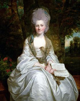A Portrait of Dorothy Vaughan, Countess of Lisburne