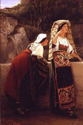 Italian Women from Abruzzo