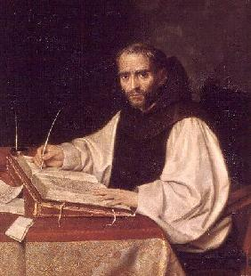 Portrait of Jose de Siguenza, prior and librarian of the monastery of San Lorenzo