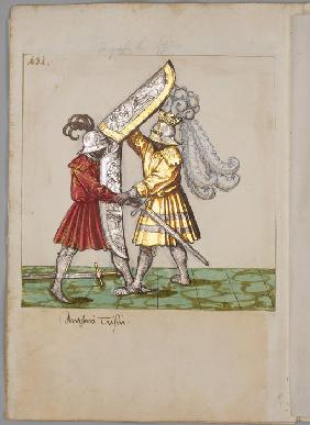 Illustration from The Tournament Book of Emperor Maximilian I