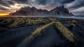 Vestrahorn sunset