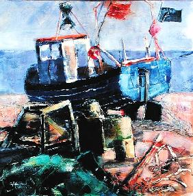 Fishing Boat on the Beach, Aldeburgh