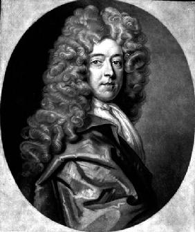 John Bannister (c.1625-79) engraved by R. Smith