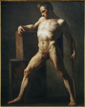 Nude study of a man