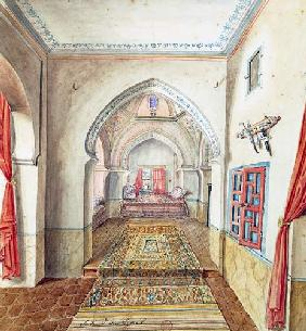 A Moorish Interior, Algiers  on