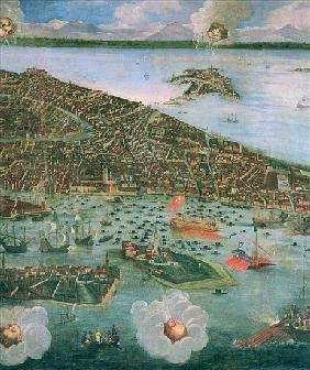 Bird''s Eye View of Venice (detail of 170292 and 61004)