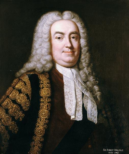 Portrait Of Sir Robert Walpole, 1st Earl Of Orford (1676-1745)