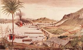 Gibraltar on the morning after the great Franco-Spanish attack