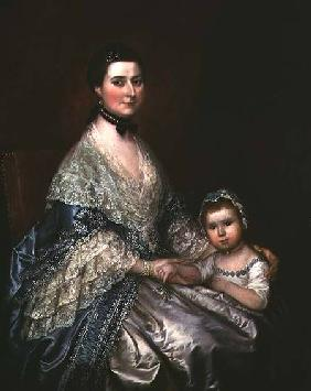 Mrs. Bedingfield and her Daughter