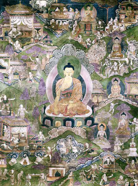 Thangka of the Buddha