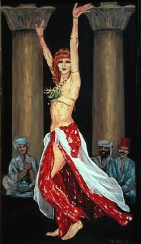 Belly Dancer, 1993 (oil on canvas)
