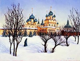 Russian Winter, 2004 (oil on canvas)