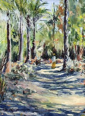 The Bush Road, 2005 (oil on canvas)