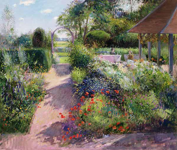 Morning Break in the Garden, 1994