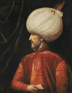 The portrait sultan Suleiman II.