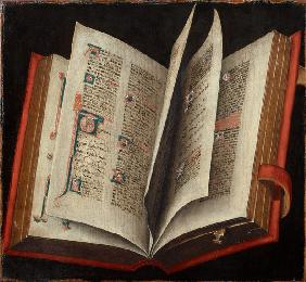 An Opened Liturgical Book