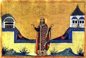 Theophano Martiniake (Miniature from the Menologion of Basil II)