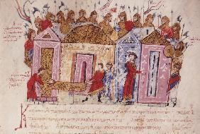 The Varangian Guard (Miniature from the Madrid Skylitzes)