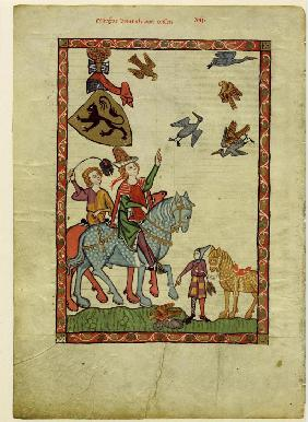 Margrave Henry III of Meissen (From the Codex Manesse)