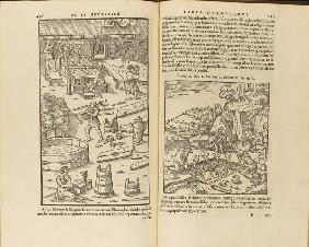 Illustration from De re metallica libri XII by Georgius Agricola