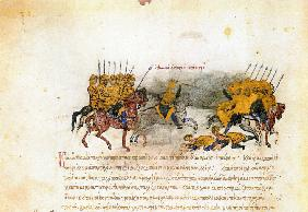 Miniature from the Madrid Skylitzes