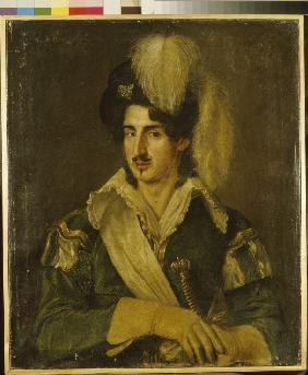 Portrait of Ballet dancer Nikolai Osipovich Goltz (1800-1880)