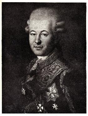 Portrait of Semyon Zorich (1745-1799), the Catherine the Great's Favourite