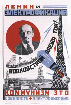 Lenin and electrification (Poster)