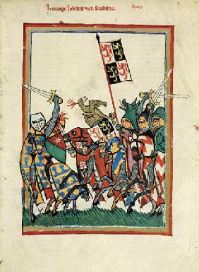 Duke John I of Brabant (From the Codex Manesse)