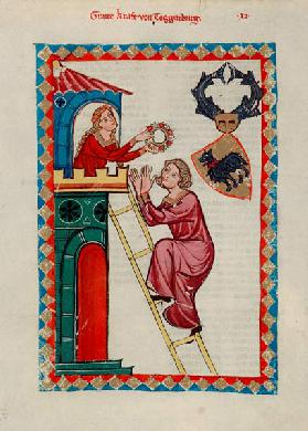 Count Kraft III of Toggenburg (From the Codex Manesse)