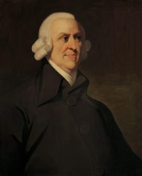 Portrait of Adam Smith (1723-1790)